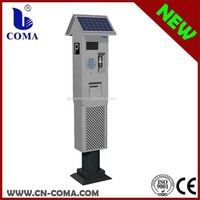 hot sale custom-made solar parking meter use for private parking lot