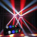 Haz del led pixel de control, haz del led, de luz en movimiento de rotación de la lente