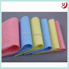 Spunlace nonwoven cleaning cloth car seats