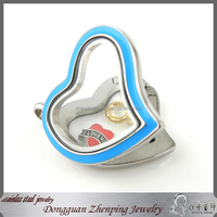 interchangeable magnetic stainless steel pendant necklace with popular chain