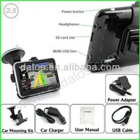 "4.3inch 5inch 7inch car gps navigation factory cheaper 4.3"" 800MHZ car GPS"