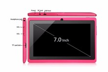 7 inch mid android tablets for bulk Android 4.4 Allwinner A33 Quad core wifi tablet supplier