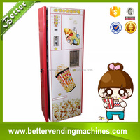 Hot food popcorn vending machines plastic machinery