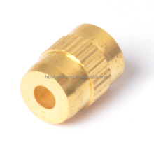 OEM precision brass cnc machined parts for auto fastener