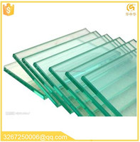 China Factory Price Rocky 6-60mm tempered laminated glass for building big size tempered glass