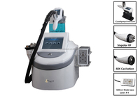 40k Cavitation Cryo Cool Therapy Sextupolar RF Diode Lipo Laser Lipolaser Salon Machine