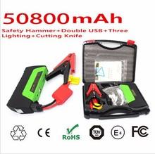 2015 Hot Selling 5v 12v 19v 12000mah Multi-function Emergency Mini Portable Power Bank Battery Car Jump Starter