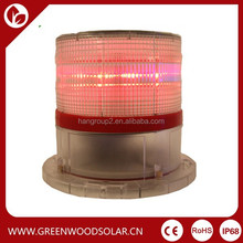 Adjustable Intensity Solar Flashing LED Warning Light For Tower