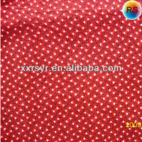 South Aisa Printed Polyester Cotton Blend Fabric