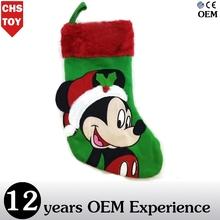 CHStoy christmas mickey sock plush toy