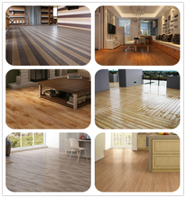home decoration 14mm canadian oak walnut laminate flooring