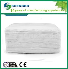 White cotton cleaning rags 33*60cm WHITE