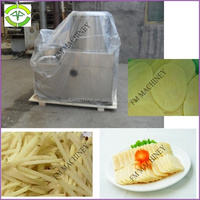 commercial potato chips cutter machine