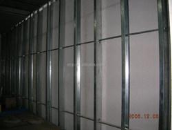 China manufacture light gauge steel frame / steel main keel stud / drywall stud and track