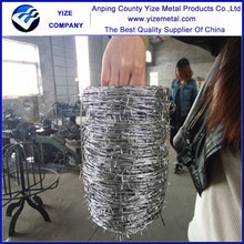 Alibaba China supplier Supply galvanized barbed wire/PVC coated barbed wire price free packing (Direct Factory)