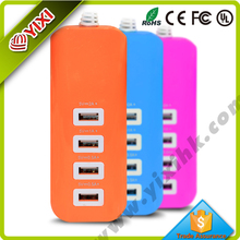 2015 New design charger usb with 4 port 5v 2.1a usb charger