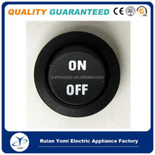 12V ON/OFF MARKING ROUND ROCKER SWITCH, TOGGLE SW, SPST