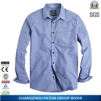 2014 Latest Long Sleeved Mens Shirts in Casual Style with Good Quality