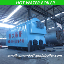 Wood-fired Fuel and Hot Water Output Floor Standing Water Heater Horizontal Low Pressure Hot Water Boiler for sale