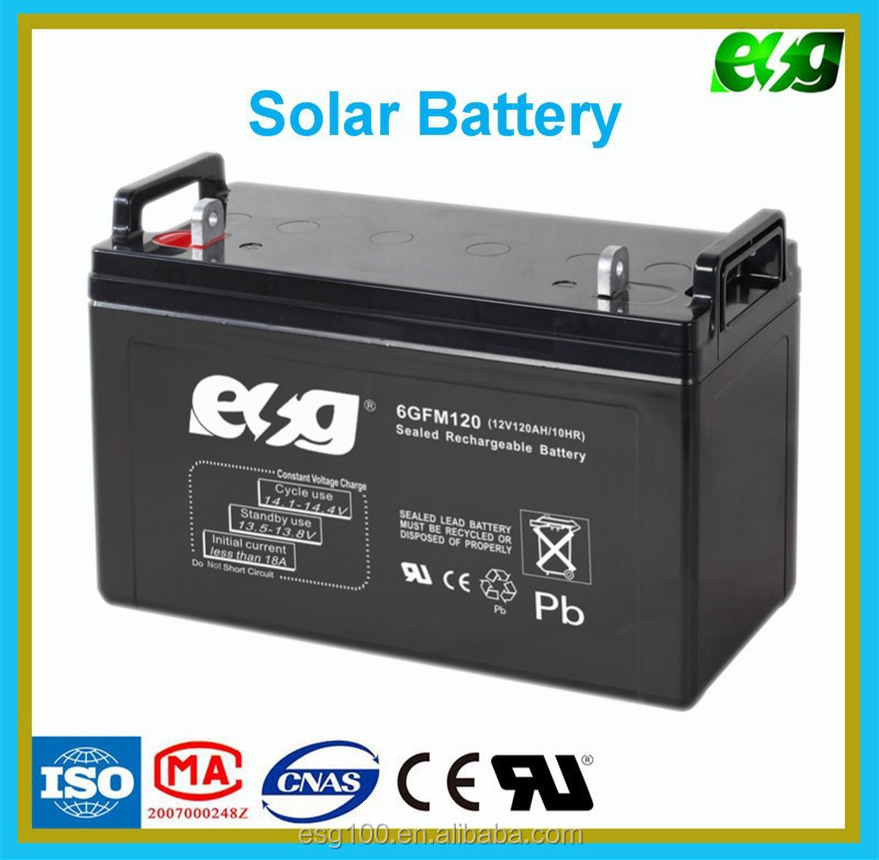 rechargeable agm deep cycle battery 12v 120ah long life. Black Bedroom Furniture Sets. Home Design Ideas
