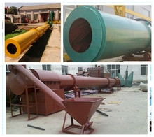 Factory direct cheap price clay rotary drum dryer With Energy Saved