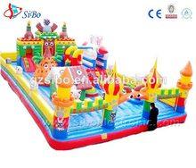 ic0 2014 pvc inflables niños juegos al aire libre para la fiesta