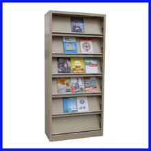 Factory directly selling used library bookcases/book rack/iron bookshelf