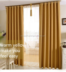 newest hot sale polyester window curtain