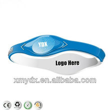 Hot Avant-garde style energy silicone bracelets for Business/ Promotional/ Party/ Sports/ Gift/ Holiday/ Wedding gifts