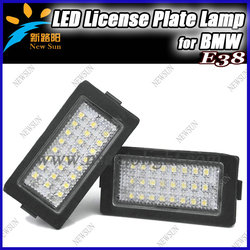 Canbus Led License Plate Lamp For Bmw E38 Auto Car Accessory Back Light Wholesale Price