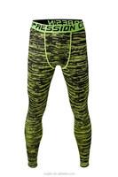 4 needle flat lock stitching Men Printting Custom Design Logo OEM Wholesale Dry Fit Compression Pants Tight Leggings