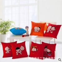 Best-selling home decor decorative pillow Comfortable Sofa Pillow, Home Seat Pillow, Back Pillow Cushion couple throw pillow