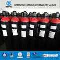 iso9809 de alta presión co2 gas n2 del cilindro de gas del cilindro
