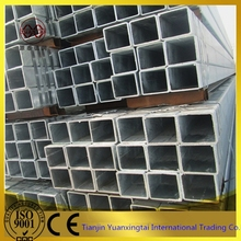pre-galvanized and galvanzied square steel pipe in china manufacturer (best price )