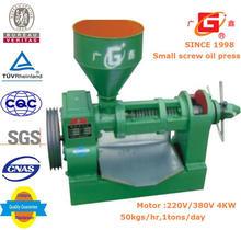 Hemp seeds oil press machine China manufacturer 90% high yield oil extraction machine