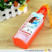 500ml Portable PET water bottle feeder dog water bottle dispenser for dogs