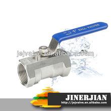 DIN/ANSI/JIS 1pc stainless steel ball valve