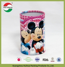 cylindrical paper box