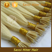 2015 new style top quality colorful nano hair extension review for women