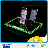 YGL Silkscreen Printing Acrylic Mobile Phone Display Stand in Factory Price
