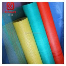 trade assurance pvc coated c-glass fiberglass mesh fabric for building