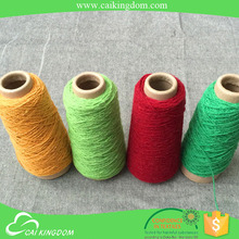 Reliable partner 80% cotton 20% polyester recycled textile weft yarn
