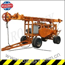 Land Mobile Water Well Bore Drilling Machine For Sale