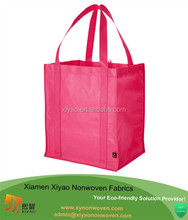 pp Non Woven Bag tote bag 30*40*10cm red Collapsible shopping bag