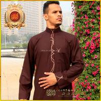 Albai Arabian Thobe, Muslim clothing, Man thobe jubah, Abaya with best quanlity
