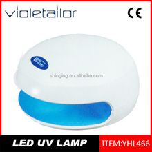 China gold manufacturer special led uv nail gel light