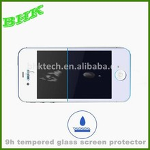 delicate touch crystal clear 9h tempered glass screen protector for iphone 5 5s 5c,screen protector oleophobic