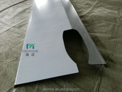 2014 new product Polycarbonate CNC drilling/polycarbonate bending heat-resistant and flame-retardant