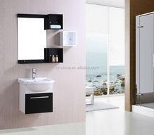 2015 Hot selling European style Red Bespoke washing machine bathroom cabinet