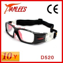 Panlees polycarbonate frame rubber silicone flank basketball volleyball soccer protective outdoor sports safety glasses goggles